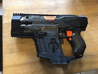 nerf modified Stryfe with Kriss Vector Kit.