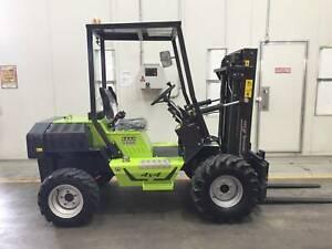 1.2T Rough Terrain Forklift Springvale Greater Dandenong Preview