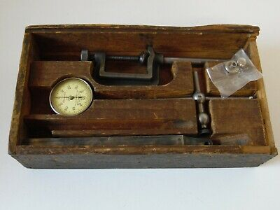 Starrett No 196 Dial Test Indicator With Some Attachements