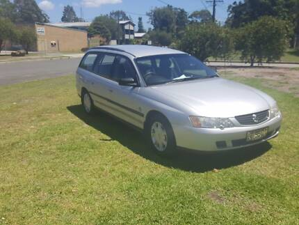 HOLDEN COMMODORE VY WAGON 2004