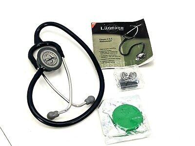 Littman Classic Ii S.e. Stethoscope W Manual Accessories Case Pre-owned
