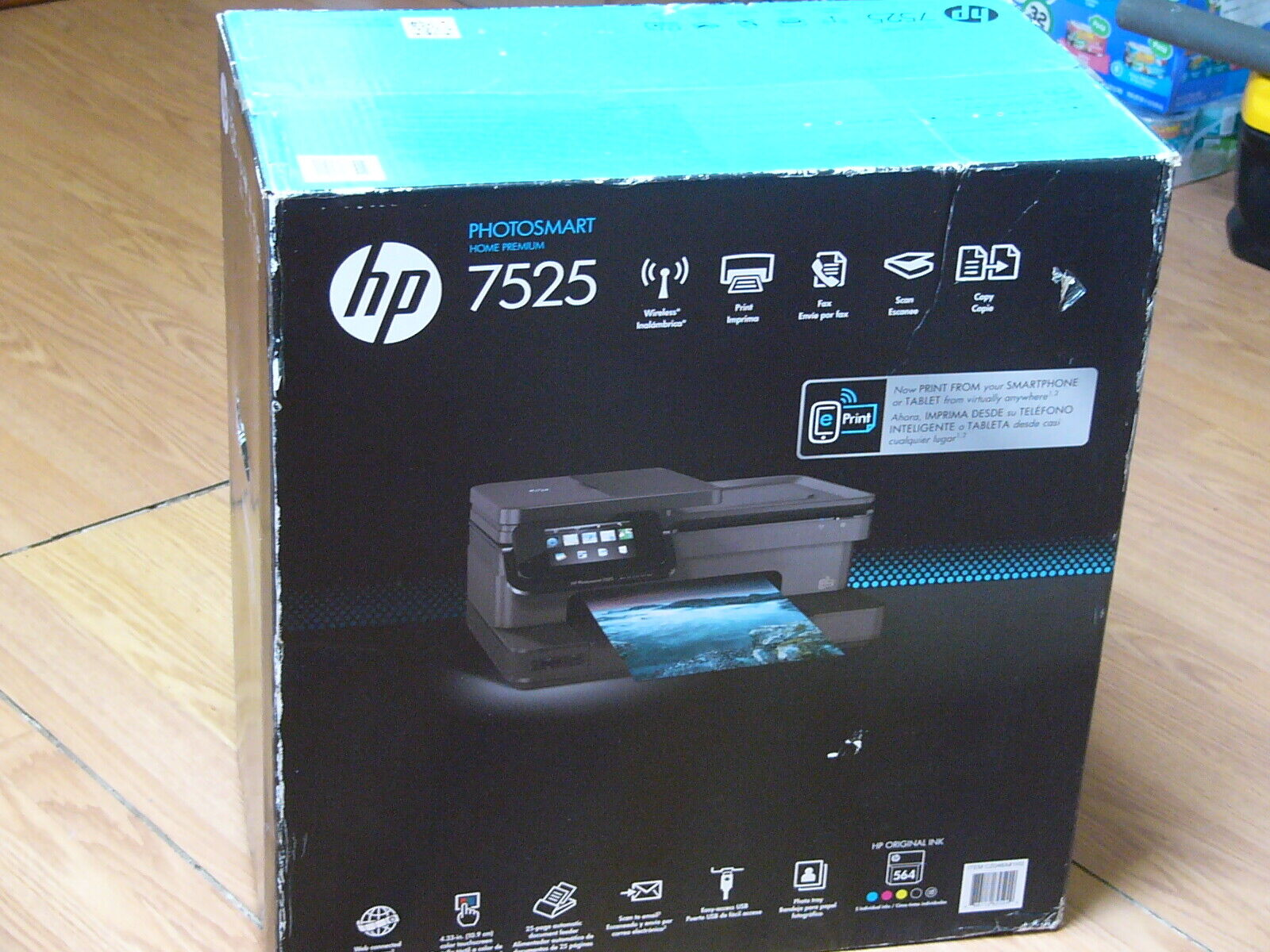 new photosmart 7525 all in one printer