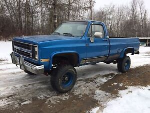 1984 Chevrolet 4x4 3/4 ton big block