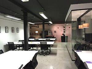 CHEAP & SLEAK OFFICE DESKS - Axis Bench Desk System Modular Easy to assemble