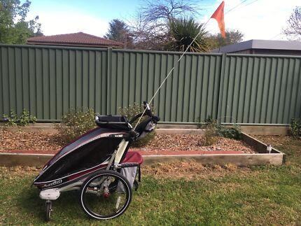 Chariot CX1 bike trailer/stroller/pram in excellent condition
