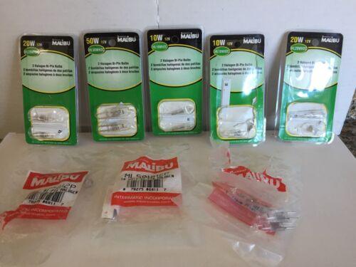 NEW 13 MALIBU 10W 20W 50W BI-PIN Halogen Light Bulbs Bonuses ML10, 20, 50 WH2C