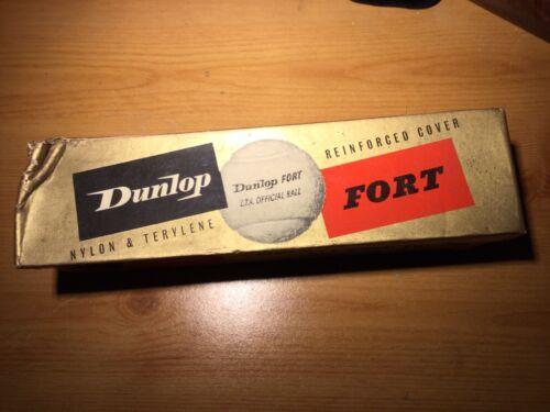 Dunlop Fort Vintage Tennis Balls And Box 1960