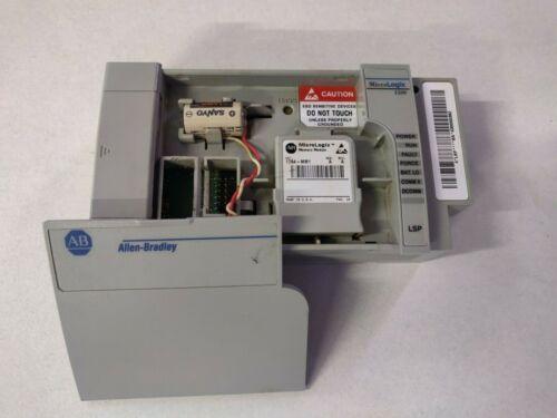 Allen-Bradley 1764-LSP Ser B Rev A Processor Unit w/ 1764-MM1 Memory Module