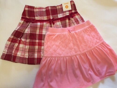 GYMBOREE Set of Two (2) Winter Skorts sz.8 NEW