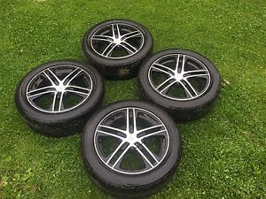 5x110 rims and tires