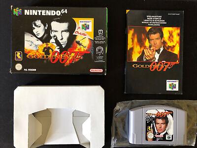 Golden Eye Original Nintendo 64 Pal España