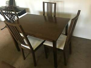 4 Seater Wooden Dining Table - good condition