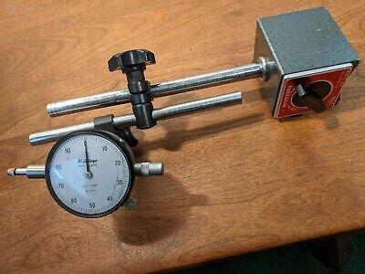 Mitutoyo Magnetic Base W Mitutoyo Dial Indicator