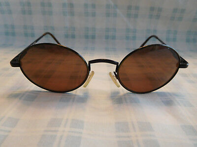 Vintage Tommy Hilfiger TH 11 49 Sunglasses Round Made In (Vintage Tommy Hilfiger Sunglasses)