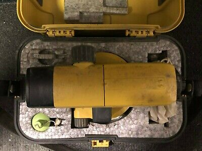 Topcon At-b4 Auto Level Kit Px1024 Preowned Good Condition