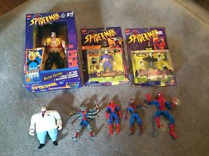 Spiderman the animated series toys from the 90s Windsor Region Ontario image 1