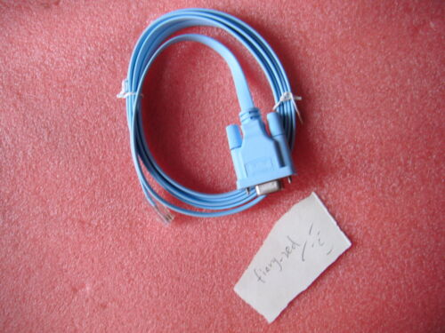 Cisco 72-3383-01 Console Cable Serial Db9 Female To Rj45 Male Switch Router Hot