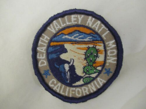 DEATH VALLEY NATIONAL MONUMENT CALIFORNIA PATCH