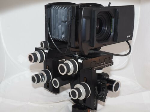 Sinar LC-Shutter 100 Control Unit. Sinaron Digital CMV lenses. Sinar p3, Sinar M