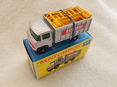 Vintage Matchbox Lesney # 11 Scaffolding Truck 1969 – MIB