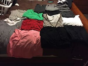 Maternity shirts and dresses lot size LG