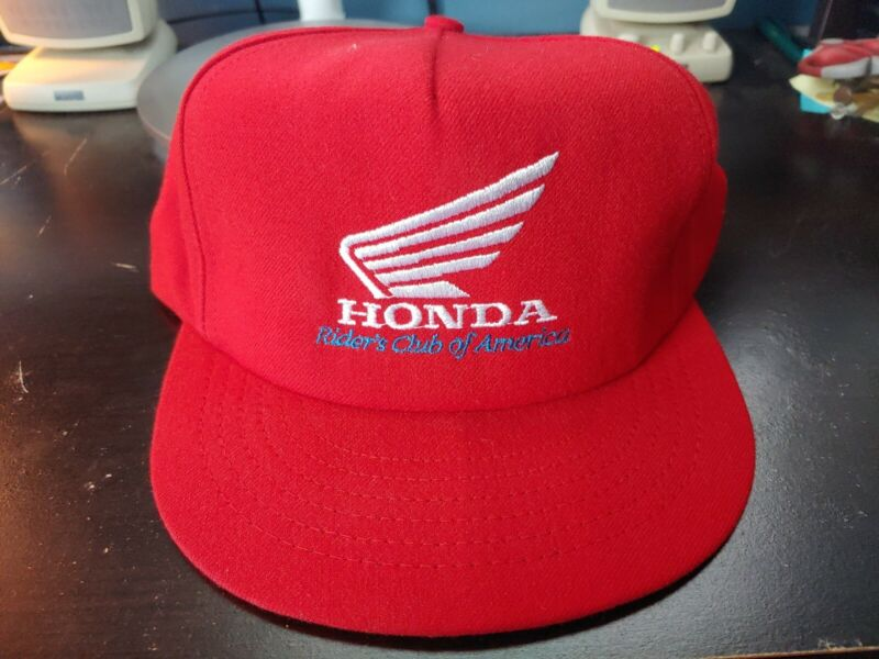 VTG NOS 1990s HONDA RIDERS CLUB HAT