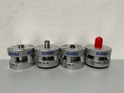 Lot Of 4 - Bimba F0-040.5 Miniature Pneumatic Cylinder