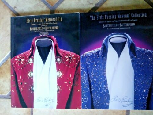 MUSIC AND MOVIE MEMORABILA Eight Major Auction Catalogs from 1995-2018, all MINT