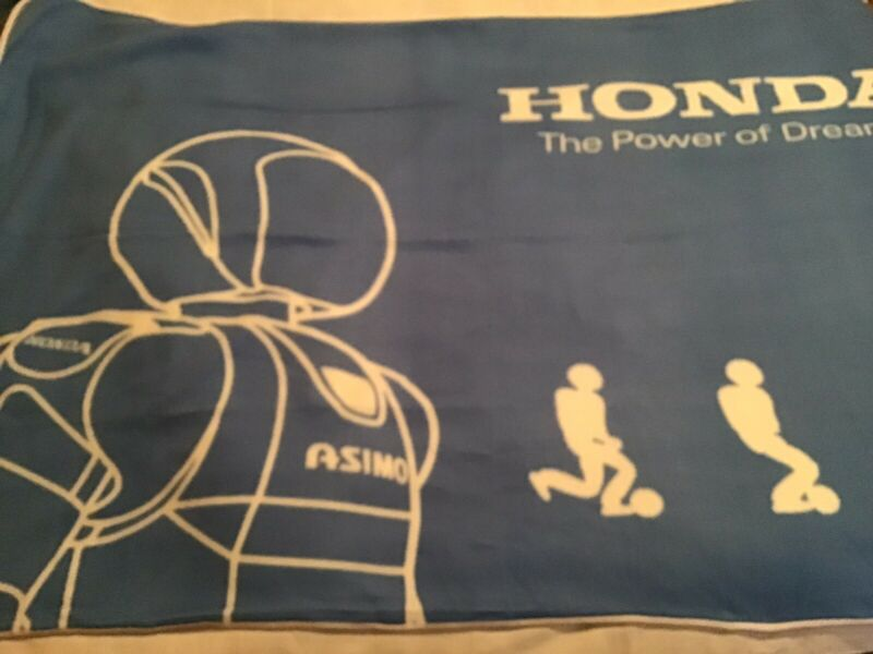 Honda Asimov Promotional Blanket ( New In Opened Bag) Found In Okinawa Japan