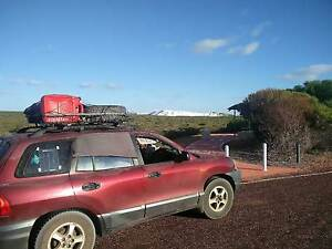 Hyundai Santa Fe 2001 4X4 + Roof Rack Hobart CBD Hobart City Preview