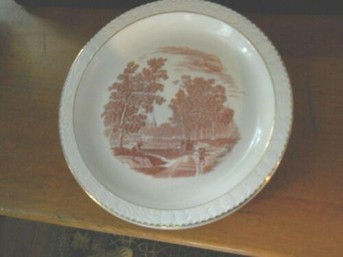 "Pr. of Royal Tudor Ware ""Olde England Richmond"" 8 7/8"" Dinner Plates"