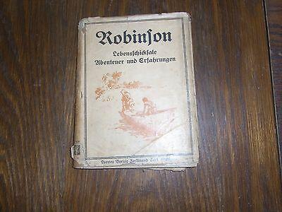 altes Kinderbuch Robinson seine Lebensschicksale von Joachim Heinrich Campe
