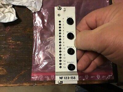Moog Nf123-158 B1 1b Amplifier Card