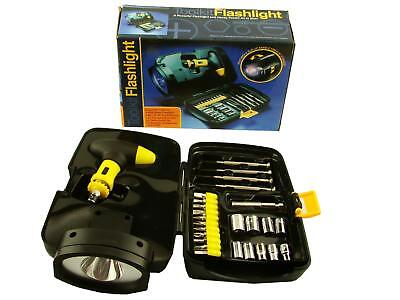 toolkit with built in flashlight new old