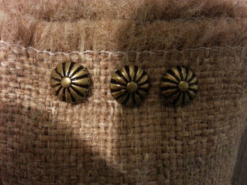 """100 Daisy 7/16""""x 1/2""""L  Nails Upholstery Tacks Decorative"""
