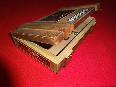 Leere Zigarren Kiste Meridiana Robusto Cigar Box Geschenk Präsent Schatulle