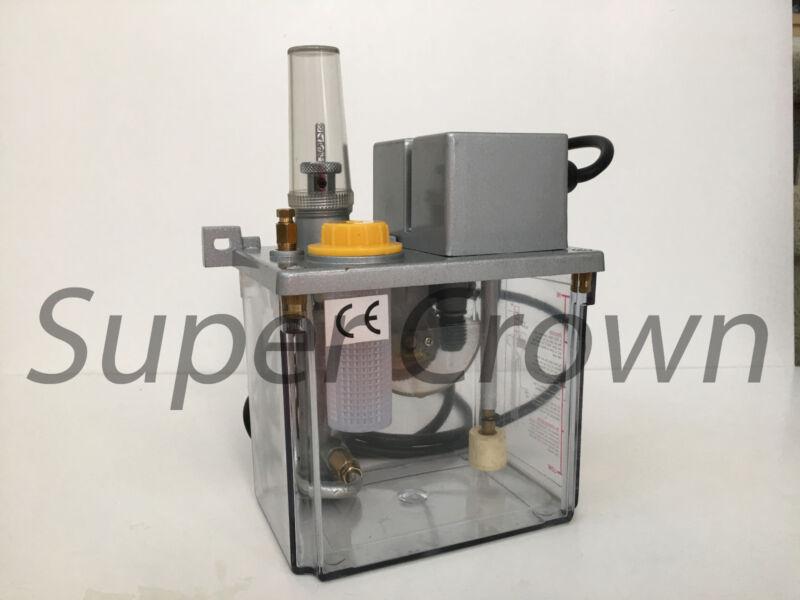 CNC Electric Intermittent Lubrication Pump, 110V, 5 min, 2L, Jin-Yin, CE JY 18F