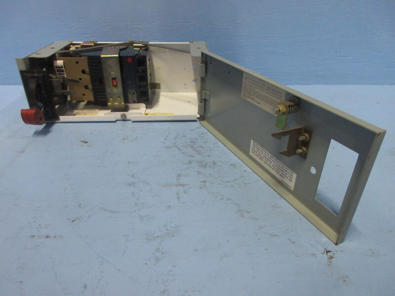 """General Electric GE 8000 80 Amp Breaker Type 6"""" MCC Feeder Bucket 80A THED136080"""