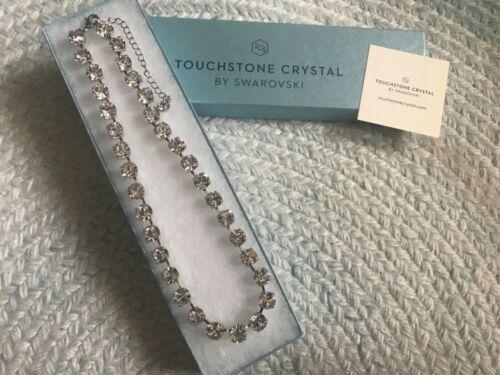 New Touchstone Crystal Swarovski Crystal Glitz Necklace NIB