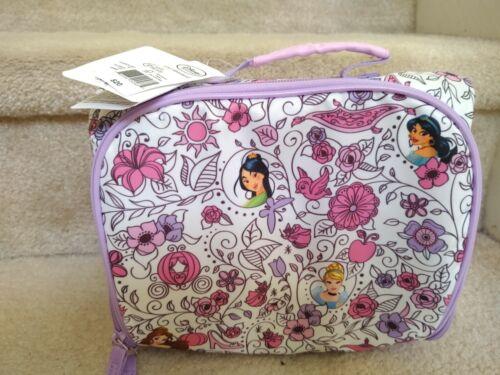 Disney Princess Cinderella Mulan Jasmine Belle Purple White
