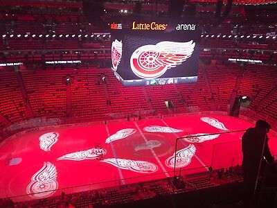 2 Detroit Red Wings Tickets 11/28/17 vs Los Angeles Kings Section 228 Row 4