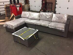 Sofa meubles terrasse jardin dans grand montr al for Entrepot sofa montreal