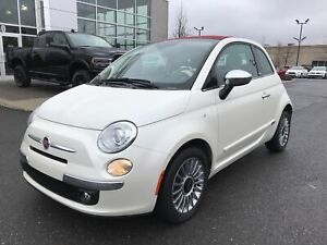 2012 Fiat 500c Lounge **CUIR, BANCS CHAUFFANT, BLUETOOTH**