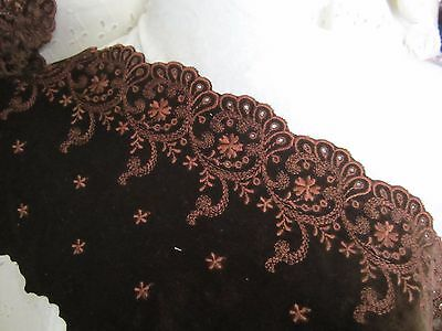 Brown Scalloped (5