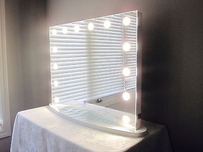 Hollywood Impulse II LED Vanity Mirror w/ Touch Dimmer & Outlet