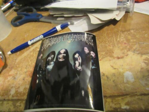 CRADLE OF FILTH  STICKER NEW 2001 VINTAGE OOP RARE COLLECTIBLE