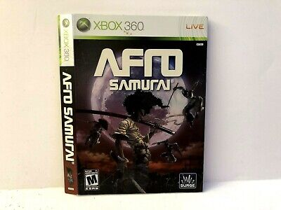 Used, Afro Samurai Xbox 360 Case SLIPCOVER ONLY Authentic for sale  Shipping to India