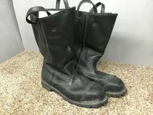 WEINBRENNER SHOE FIRE FIGHTER BOOTS  Mens 14 M STEEL TOE