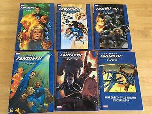 Ultimate Fantastic Four oversized HC full set 1-6