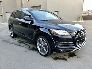2015 Audi Q7 Sport Package/Every Option/No Accidents/3.0T